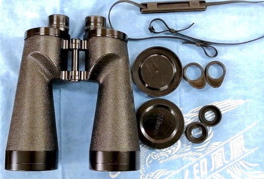 ニコン Nikon15x70ポロ型双眼鏡、視野4°、明るく、非常によく見えます!