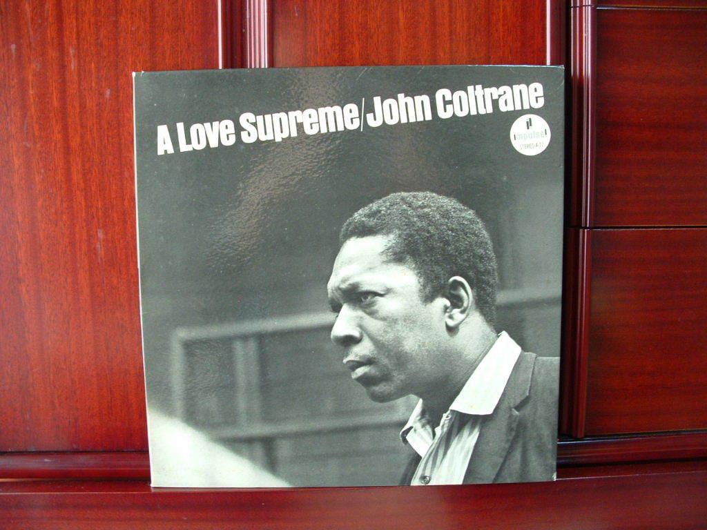 【オリジナル極美品NM】JOHN COLTRANE / A Love Supreme (艶オレンジ,ABC-PARAMOUNT,Van Gelder,Impulse)_画像1
