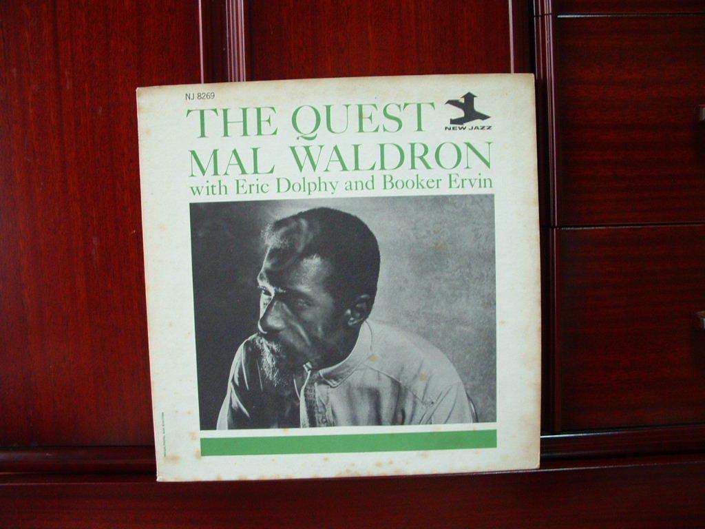 【オリジナル入手困難】MAL WALDRON / The Quest (DG,紫ラベル,RVG,Eric Dolphy,New Jazz)_画像1
