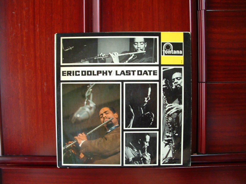 【蘭オリジナル入手困難】ERIC DOLPHY / Last Date オランダ (DG,青ラベル,Fontana)_画像1
