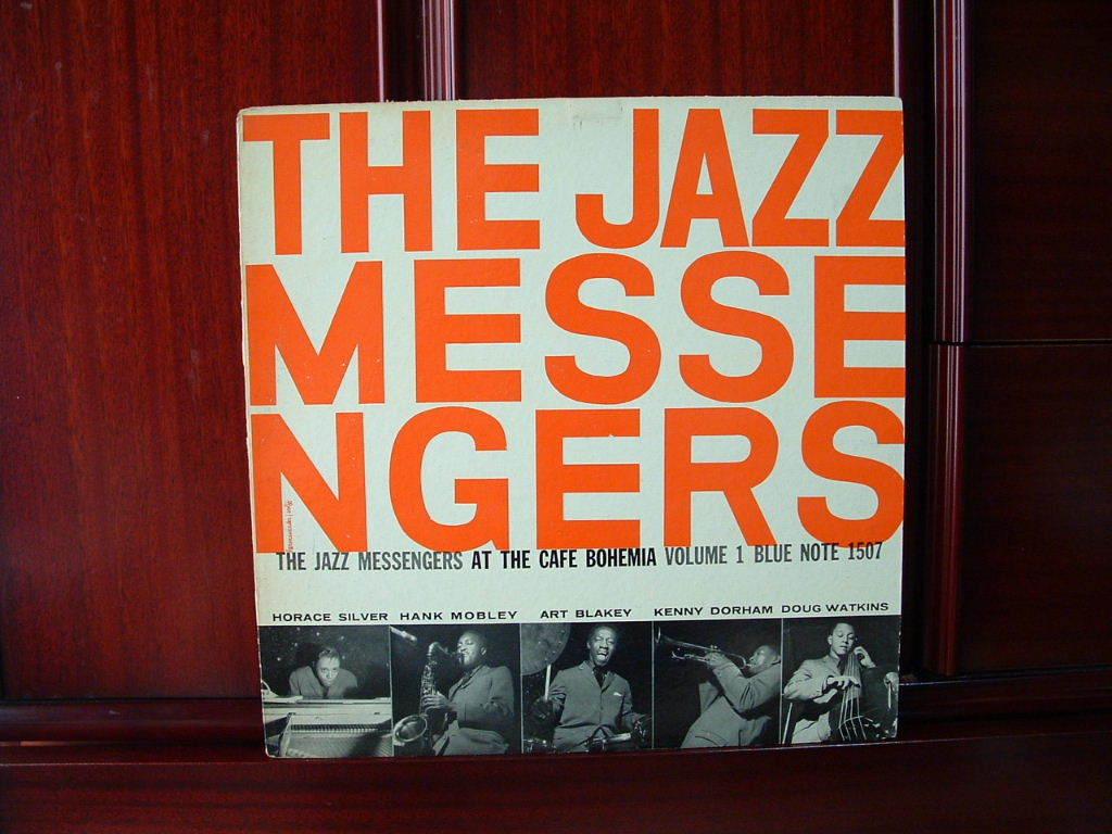 【激レア入手困難】THE JAZZ MESSENGERS / At The Cafe Bohemia Vol.1 (DG,Lexington,Art Blakey,Hank Mobley,Kenny Dorham,Blue Note)_画像1