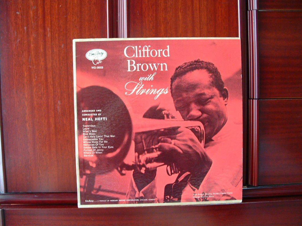 【オリジナル入手困難】CLIFFORD BROWN / With Strings (DG,銀縁,大ドラマー,YMG,Emarcy)_画像1