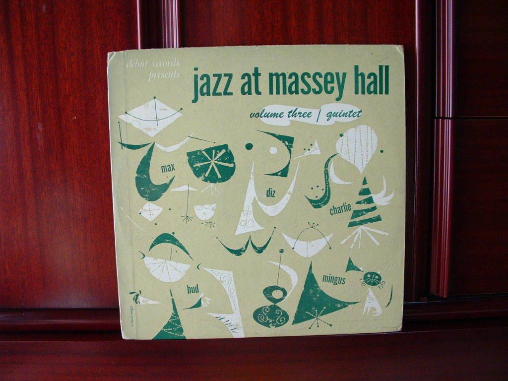 【オリジナル美品】CHARLIE PARKER / Jazz At Massey Hall Vol.3 (DG,Maroon,Debut)_画像1