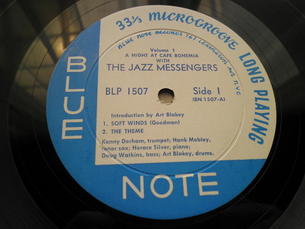 【激レア入手困難】THE JAZZ MESSENGERS / At The Cafe Bohemia Vol.1 (DG,Lexington,Art Blakey,Hank Mobley,Kenny Dorham,Blue Note)_画像3