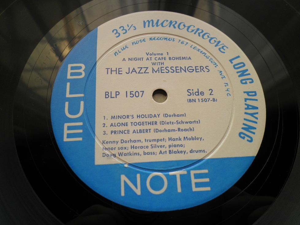 【激レア入手困難】THE JAZZ MESSENGERS / At The Cafe Bohemia Vol.1 (DG,Lexington,Art Blakey,Hank Mobley,Kenny Dorham,Blue Note)_画像4
