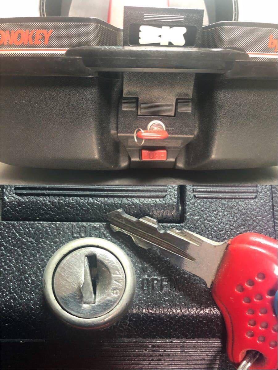 ☆GIVI トップケース モノキー MONOKEY 鍵1本付き_画像7