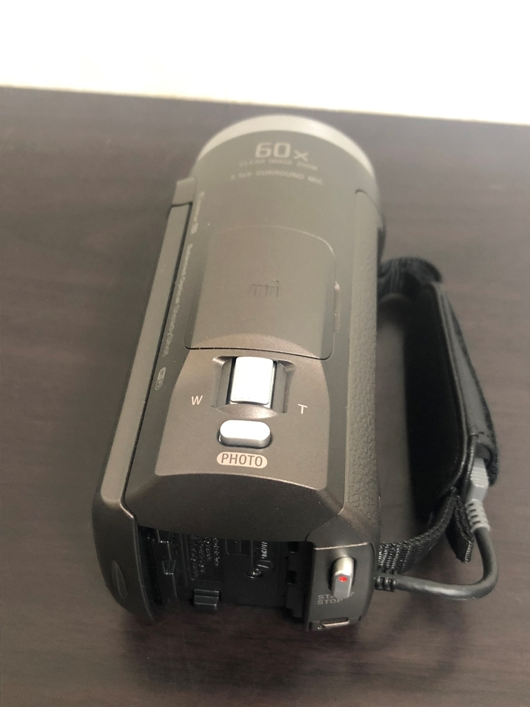 SONY ソニー製 ほぼ新品 2018年製 HDR-CX680 人気のブラウン!! ハンディカム HANDYCAM Youtube活動などに 元箱あり 運動会や夏休みに!!_画像8