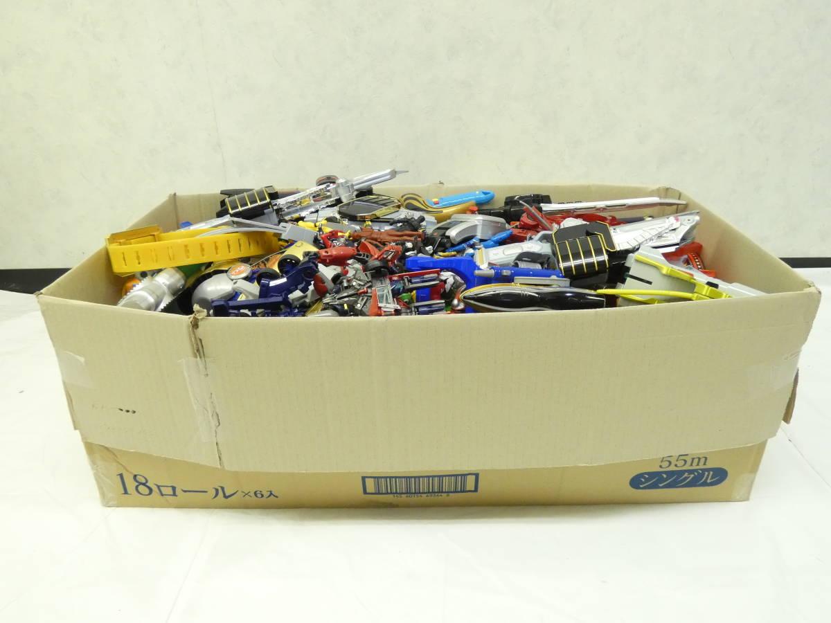 U997/男の子おもちゃ玩具 大量まとめ売り 仮面ライダー・戦隊・ 武器・付属品・ソフビ他