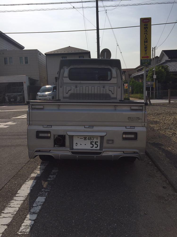 軽トラ スズキキャリィ660フルエアロカスタム ローダウン_画像5