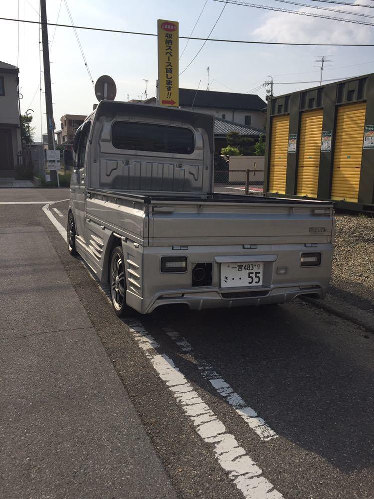 軽トラ スズキキャリィ660フルエアロカスタム ローダウン_画像4