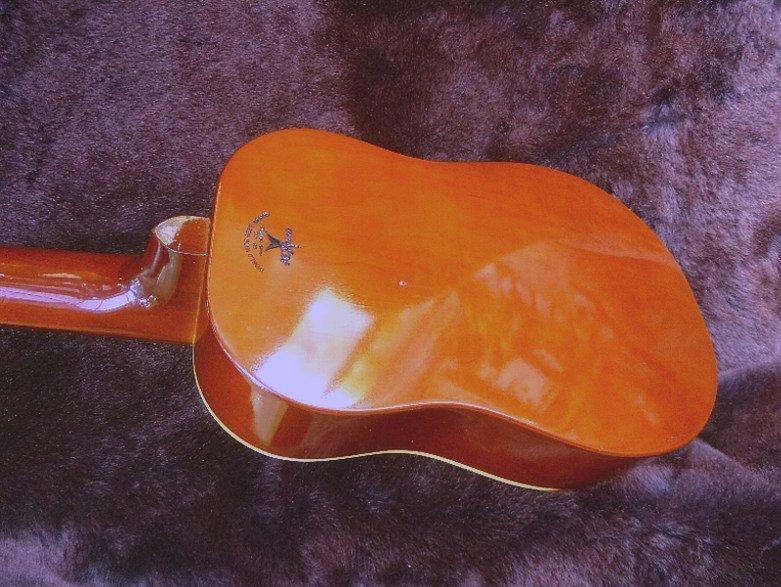 【限定値下げ】「 K.YAIRI ENJOY PART-2」「 LADY BIRD 」ジャパンビンテージ コレクター向き トラベルギター ミニアコーステイックギター_画像7