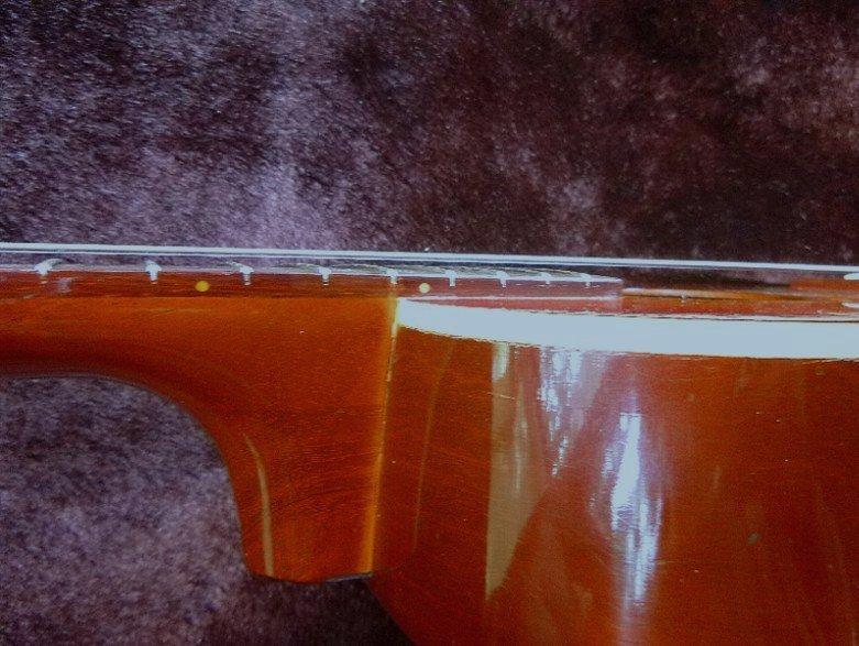 【限定値下げ】「 K.YAIRI ENJOY PART-2」「 LADY BIRD 」ジャパンビンテージ コレクター向き トラベルギター ミニアコーステイックギター_画像9