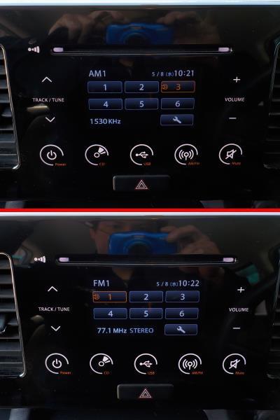 モコ MG33S MRワゴン MF33S 純正 CDデッキ CD/USB/iPod USBコード付き PS-3334R-C 39101-50M10●19010510三J1709●_画像10