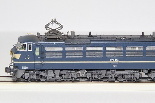 ◆EF66-53号機〔関〕《ブルートレイン牽引機 最終仕様》 KATO 3047-2改 超精密加工 ウェザリング済み 完成品_画像3