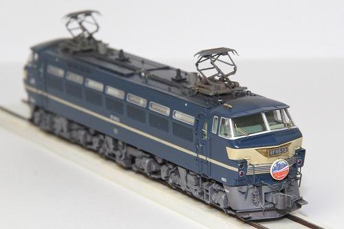 ◆EF66-53号機〔関〕《ブルートレイン牽引機 最終仕様》 KATO 3047-2改 超精密加工 ウェザリング済み 完成品_画像6
