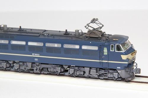 ◆EF66-53号機〔関〕《ブルートレイン牽引機 最終仕様》 KATO 3047-2改 超精密加工 ウェザリング済み 完成品_画像8