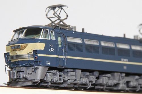◆EF66-53号機〔関〕《ブルートレイン牽引機 最終仕様》 KATO 3047-2改 超精密加工 ウェザリング済み 完成品_画像9