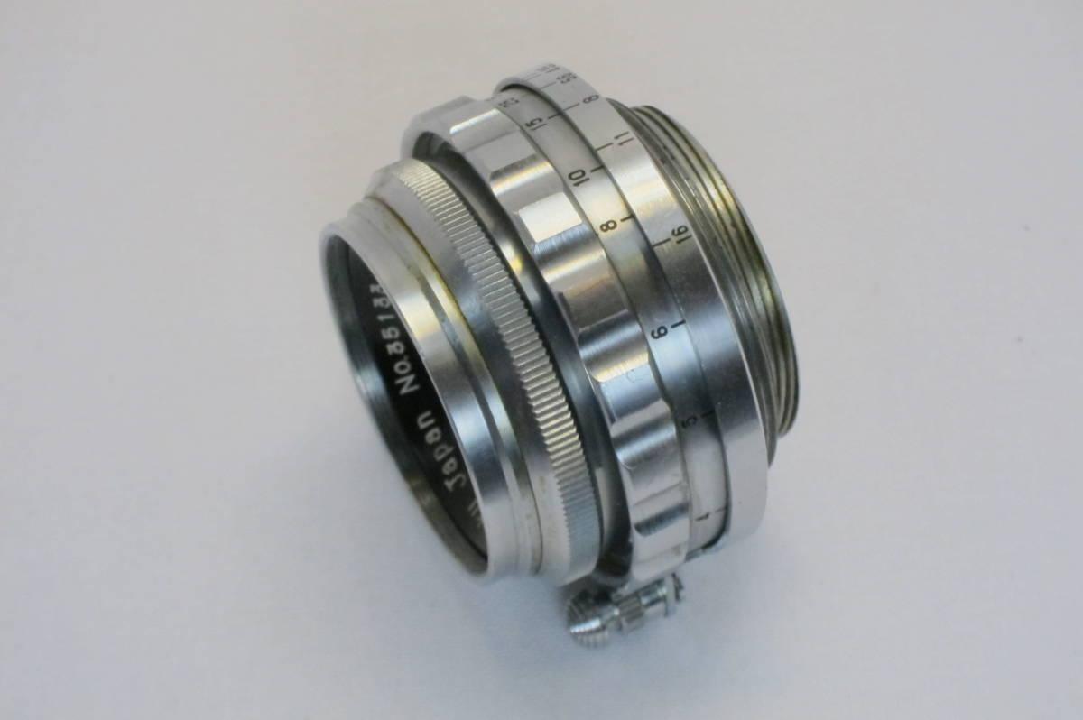 希少 W TANAR 35mm 1:3.5 Tanaka Kogaku Japan ライカLマウント_画像4