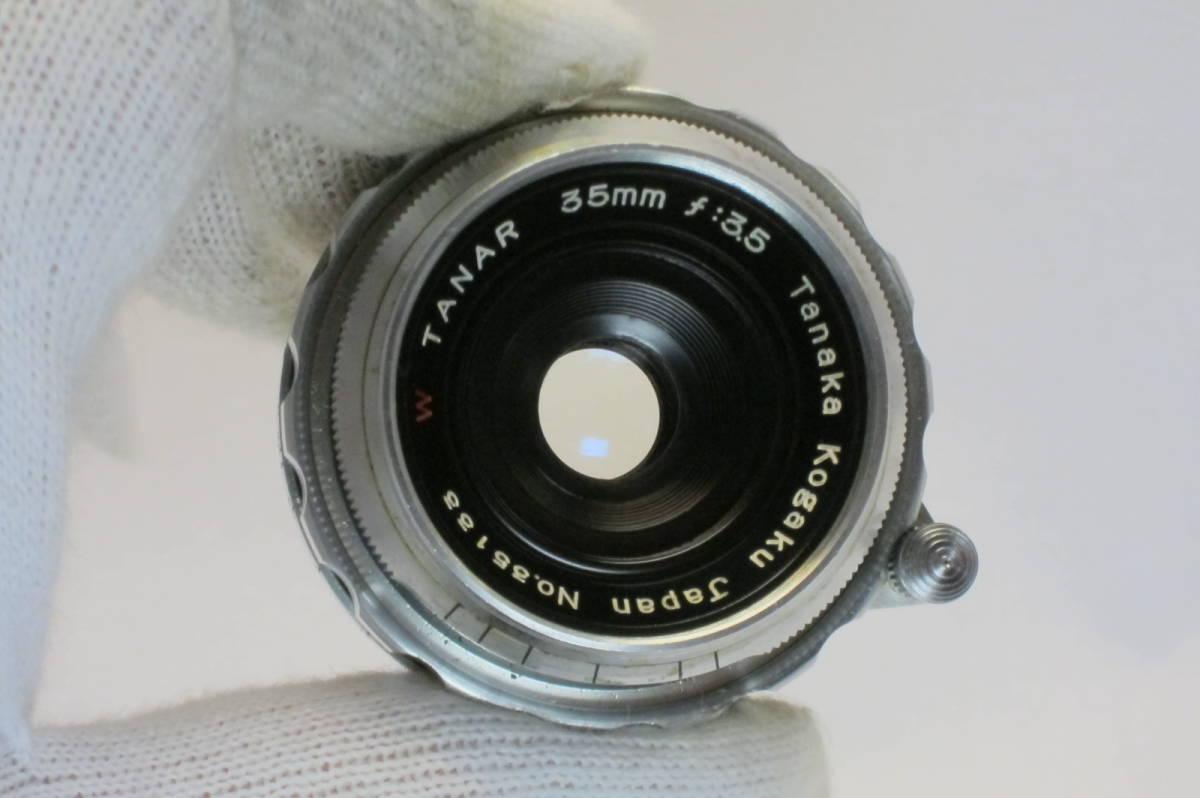 希少 W TANAR 35mm 1:3.5 Tanaka Kogaku Japan ライカLマウント_画像7