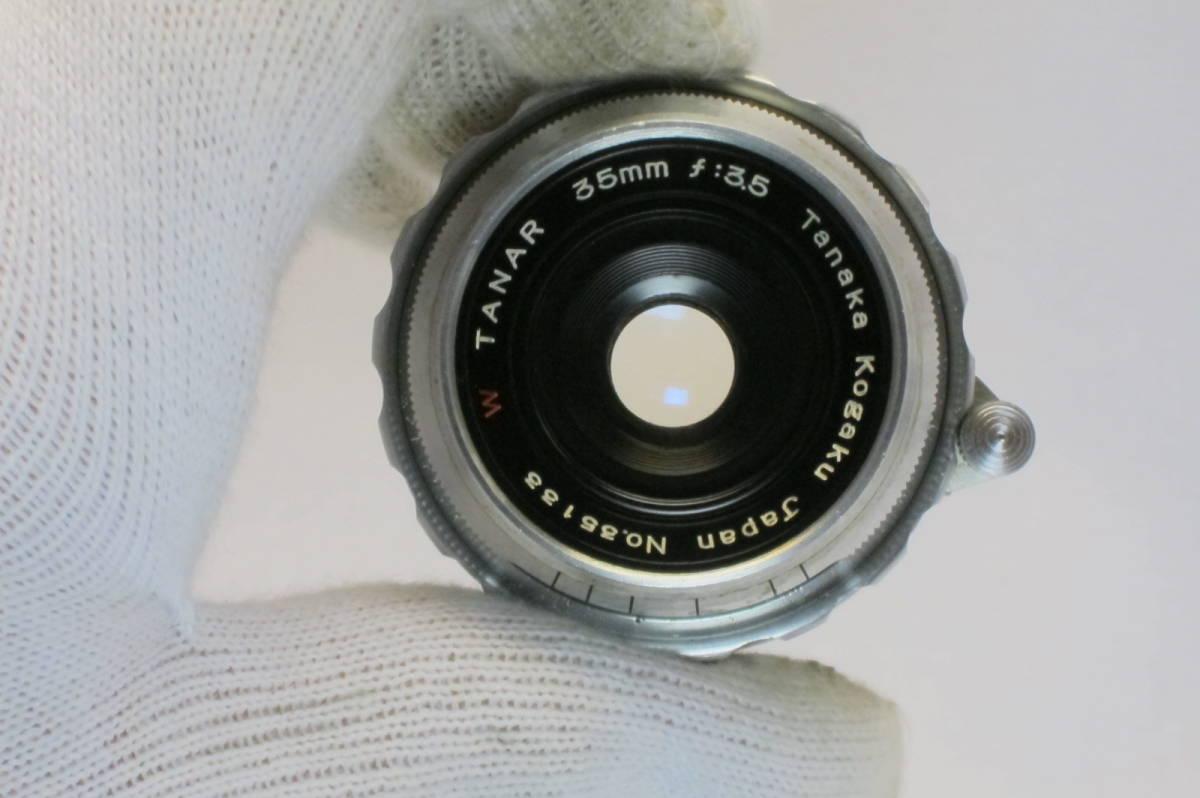 希少 W TANAR 35mm 1:3.5 Tanaka Kogaku Japan ライカLマウント_画像8