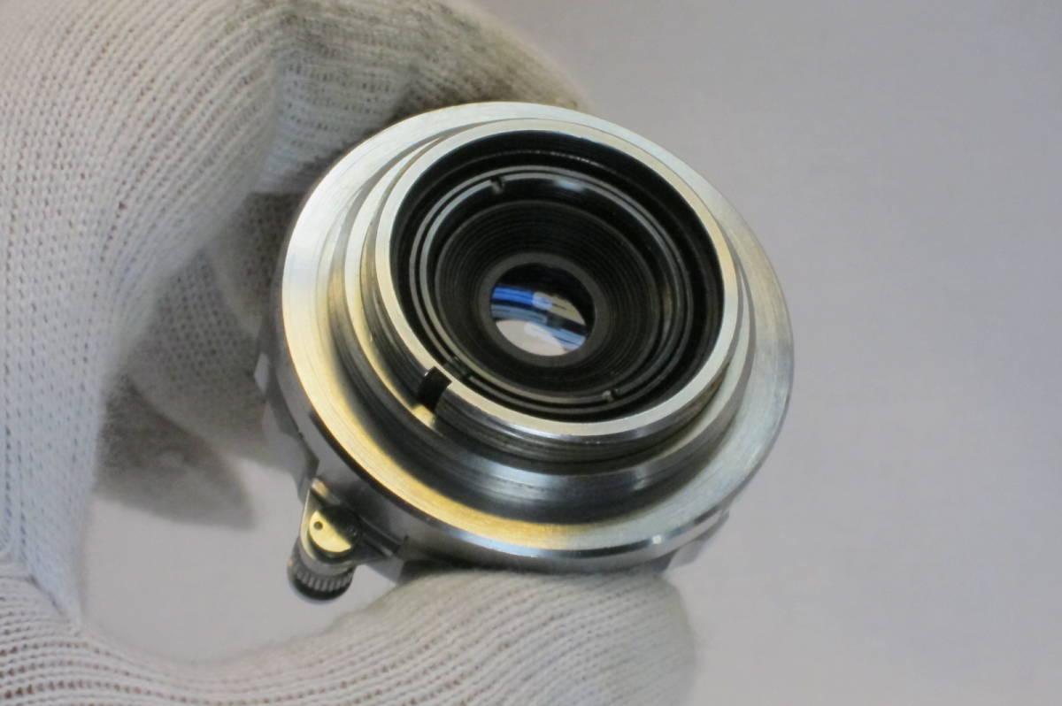 希少 W TANAR 35mm 1:3.5 Tanaka Kogaku Japan ライカLマウント_画像10