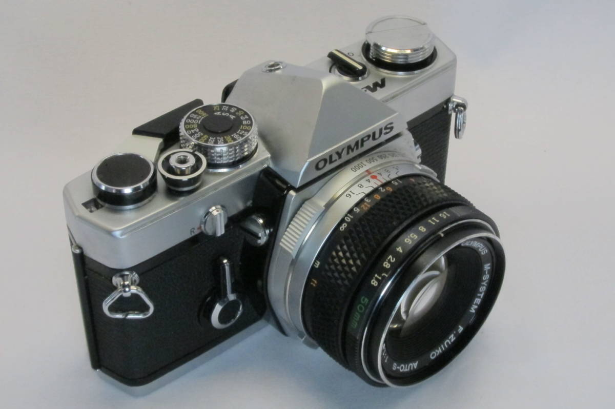 希少 OLYMPUS M-1 M-SYSTEM ZUIKO 50mm 1:1.8_画像2