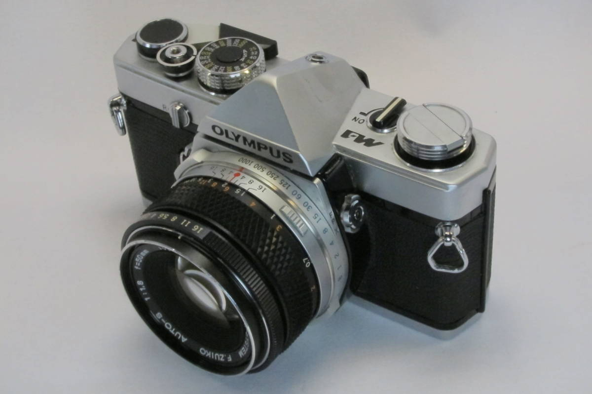 希少 OLYMPUS M-1 M-SYSTEM ZUIKO 50mm 1:1.8_画像3