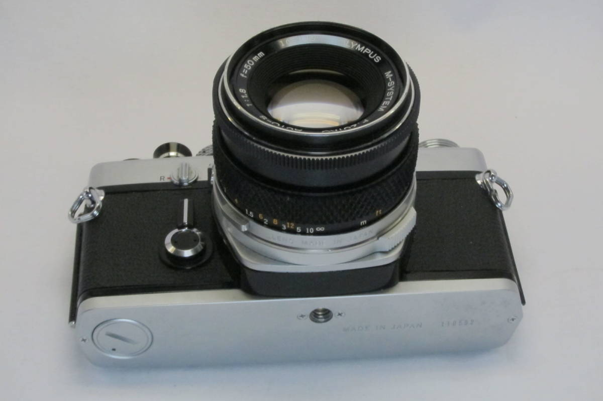 希少 OLYMPUS M-1 M-SYSTEM ZUIKO 50mm 1:1.8_画像9
