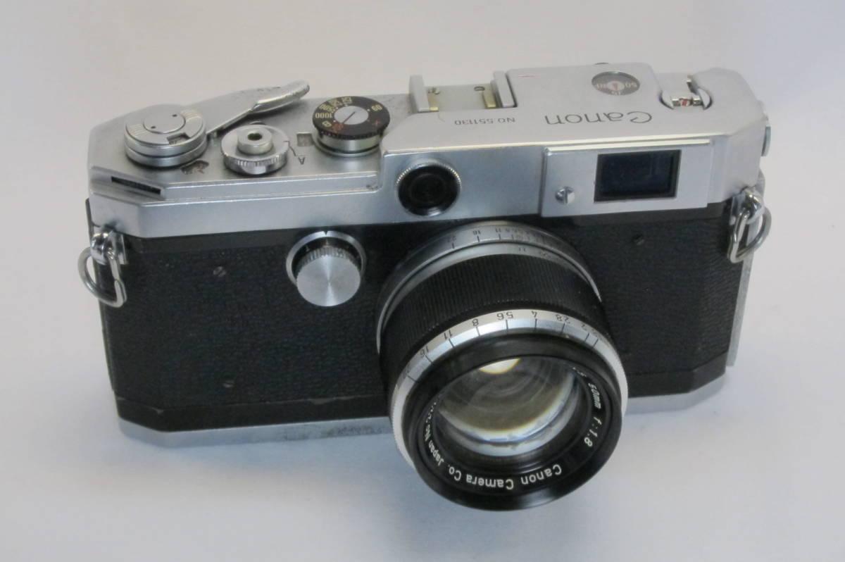 Canon L1 Canon 50mm 1:1.8 ライカLマウント