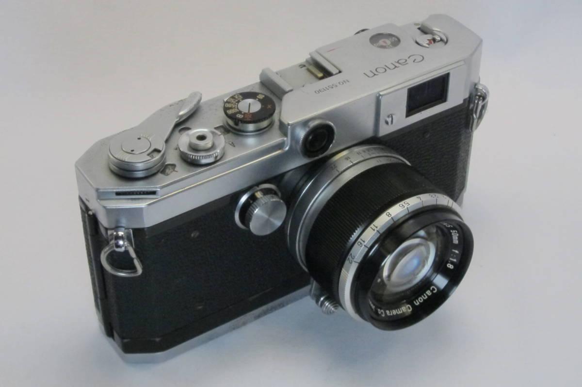 Canon L1 Canon 50mm 1:1.8 ライカLマウント_画像2