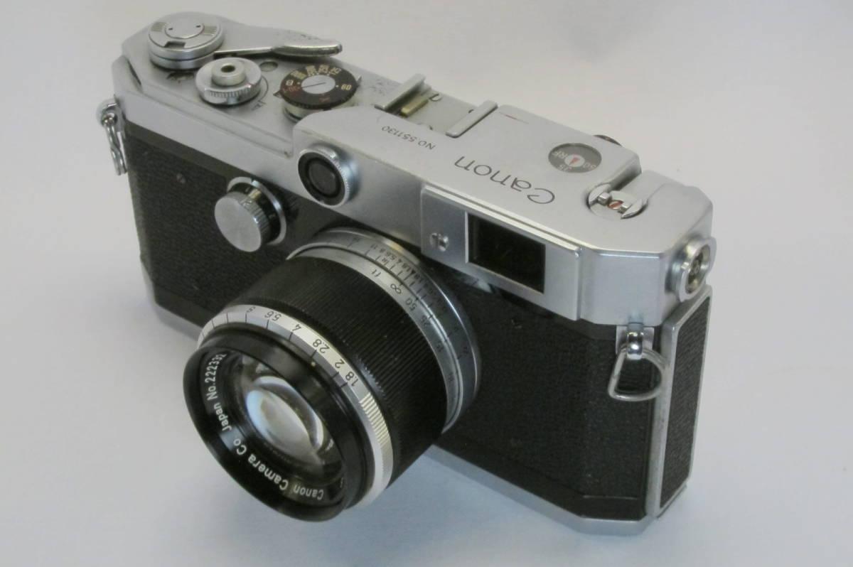 Canon L1 Canon 50mm 1:1.8 ライカLマウント_画像3