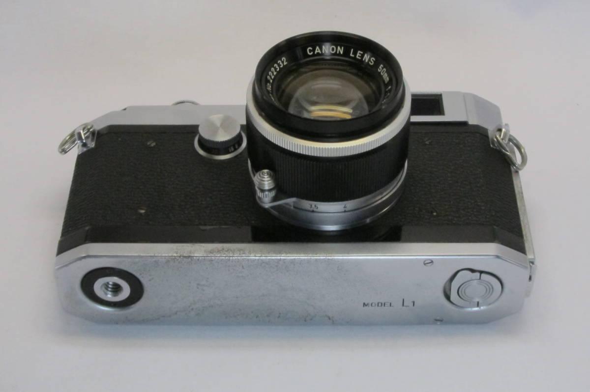 Canon L1 Canon 50mm 1:1.8 ライカLマウント_画像5