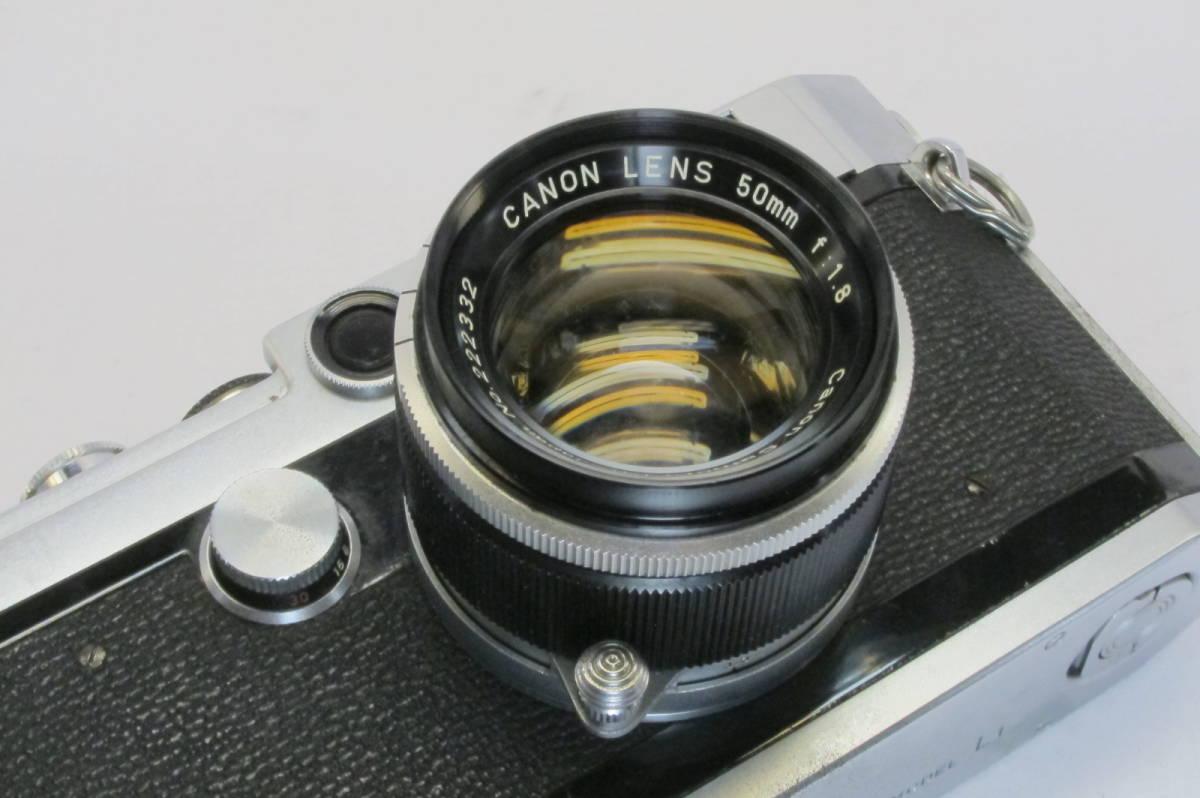 Canon L1 Canon 50mm 1:1.8 ライカLマウント_画像6