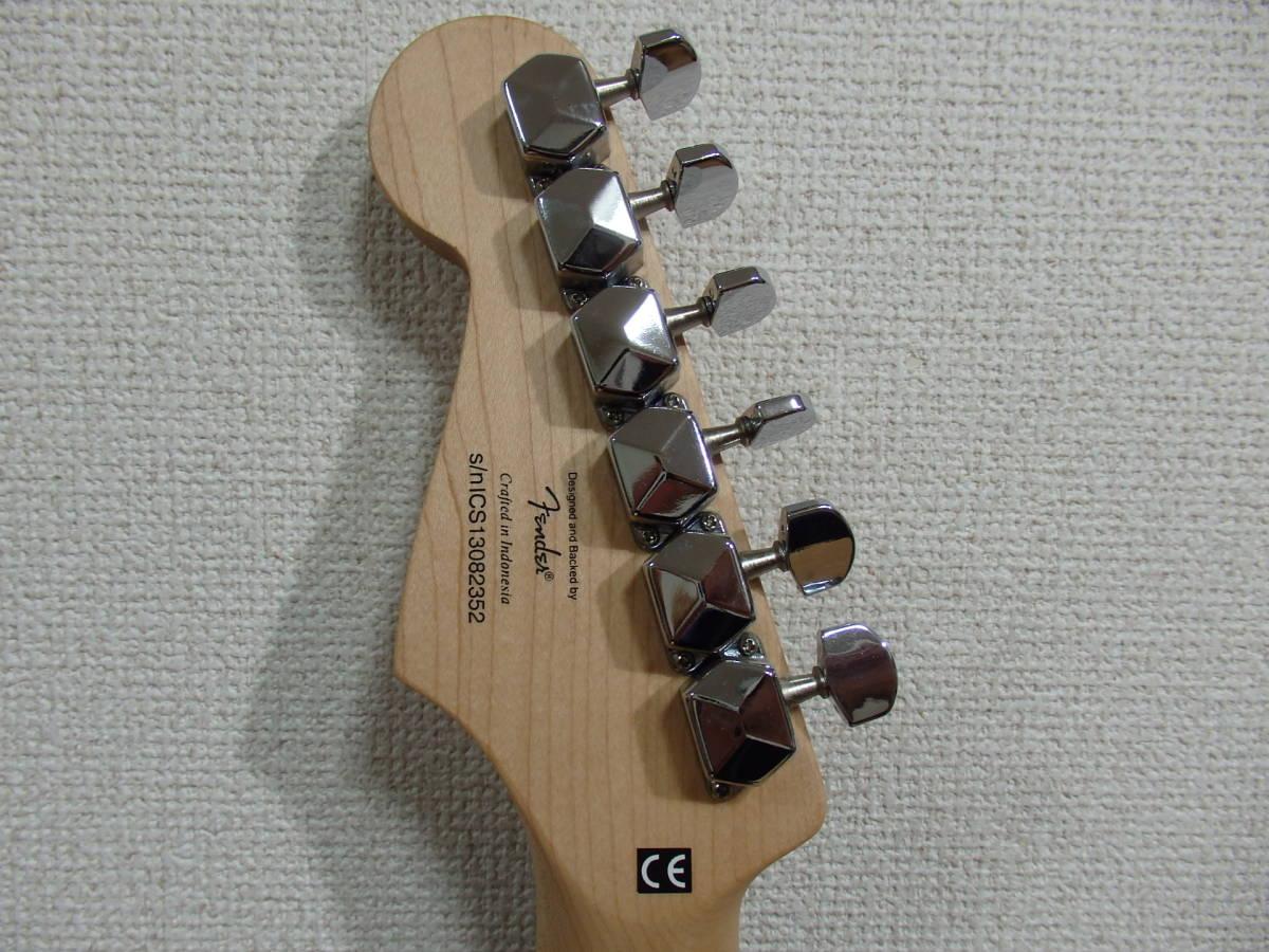 美品!格安!Squier by Fender スクワイアーBullet Strat サンバースト/スクワイヤー フェンダー ストラトキャスターAffinity エレキ_画像3