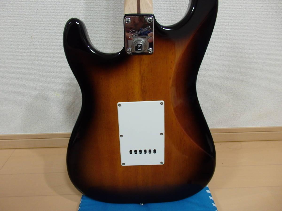 美品!格安!Squier by Fender スクワイアーBullet Strat サンバースト/スクワイヤー フェンダー ストラトキャスターAffinity エレキ_画像9