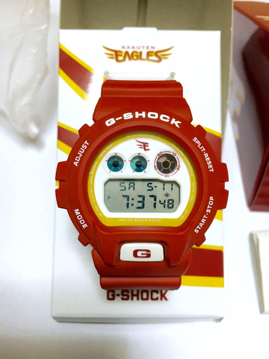 ★Gショック 「楽天イーグルス&G-SHOCK コラボモデル①」 DW-6900 限定400本 新品・