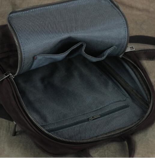 409190高級 リュックサック 男女兼用バッグ 本革 レザー スタイリッシュ 品質保証 多機能 大容量 通勤 出張 旅行_画像5