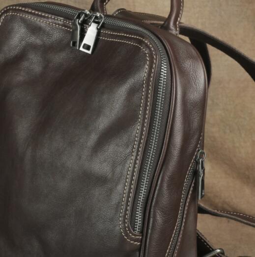 409190高級 リュックサック 男女兼用バッグ 本革 レザー スタイリッシュ 品質保証 多機能 大容量 通勤 出張 旅行