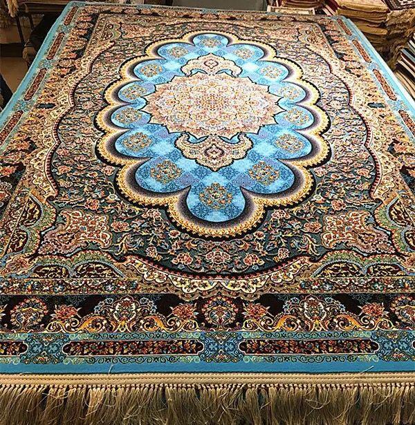 ◆特別提供◆品入手困難◆シルク100% ペルシャ絨毯☆入ペルシャ絨毯☆ウール高密度300万縫い針世界の名品☆230*160cm_画像2