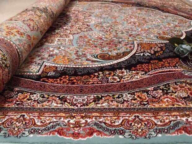 人気推薦豪華天然☆シルク100% ペルシャ絨毯☆入ペルシャ絨毯☆ウール高密度300万縫い針世界の名品☆200*300CMWS2_画像8