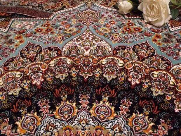 人気推薦豪華天然☆シルク100% ペルシャ絨毯☆入ペルシャ絨毯☆ウール高密度300万縫い針世界の名品☆200*300CMWS2_画像5