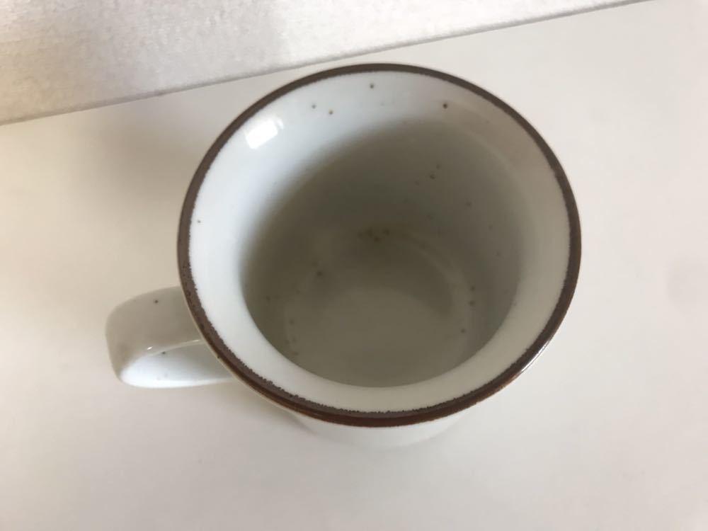ミスタードーナツ マグカップ 企業ロゴ 非売品 レア ヴィンテージ vintage mister donut 中古 食器 陶器_画像4
