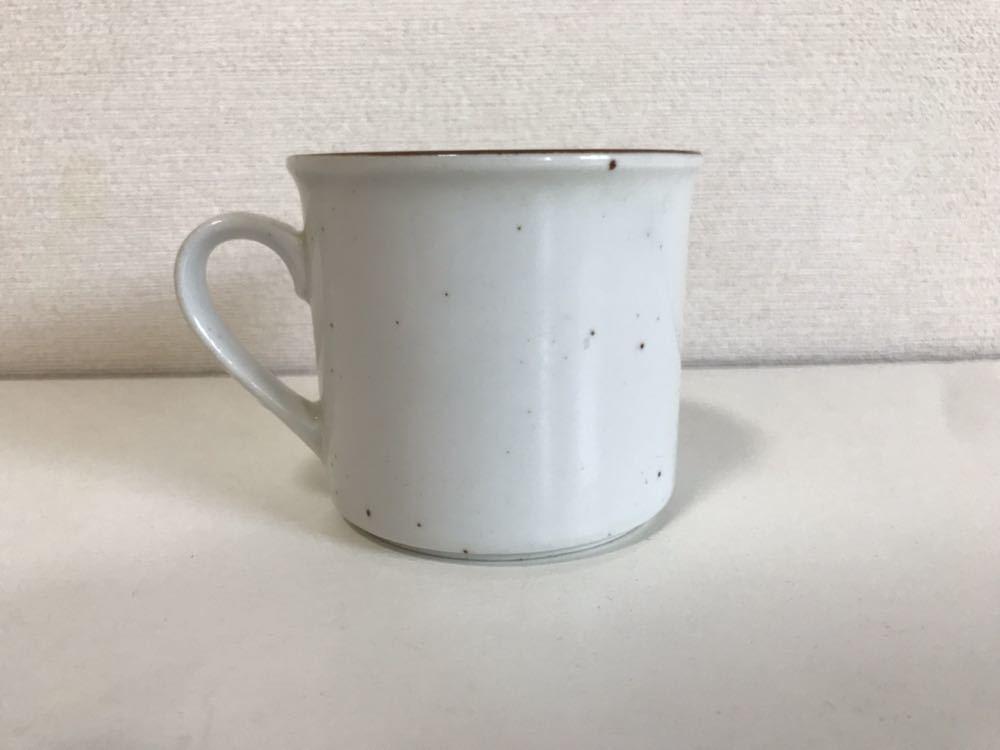 ミスタードーナツ マグカップ 企業ロゴ 非売品 レア ヴィンテージ vintage mister donut 中古 食器 陶器_画像3