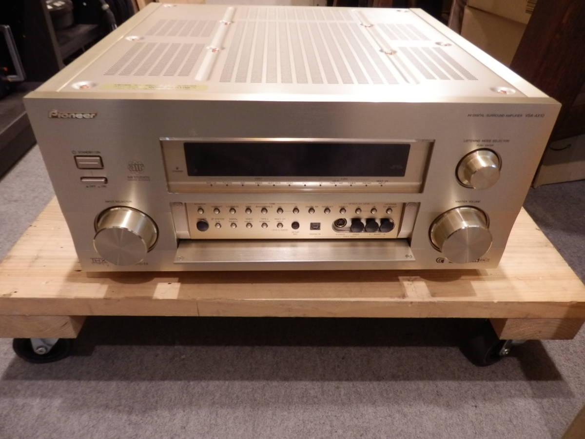 PIONEER 高級AVデジタルサラウンド・アンプ VSA-AX10 中古動作品_画像5