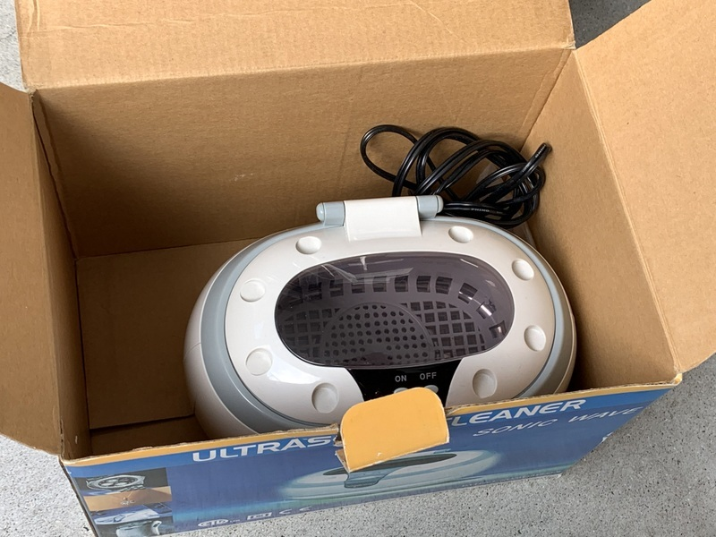 超音波洗浄機 クリーナー CD-2800 ウルトラソニッククリーナー/メガネ アクセサリー 時計 洗浄 箱 取扱説明書付き 美品