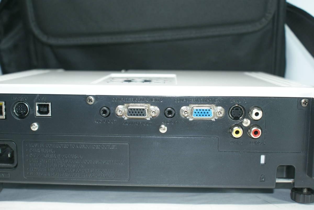 TAXAN 高輝度DLP プロジェクター KG-PH202X  ★3500lm★ ランプ残量87% リモコン付 程度良好 3D対応機種。_画像7