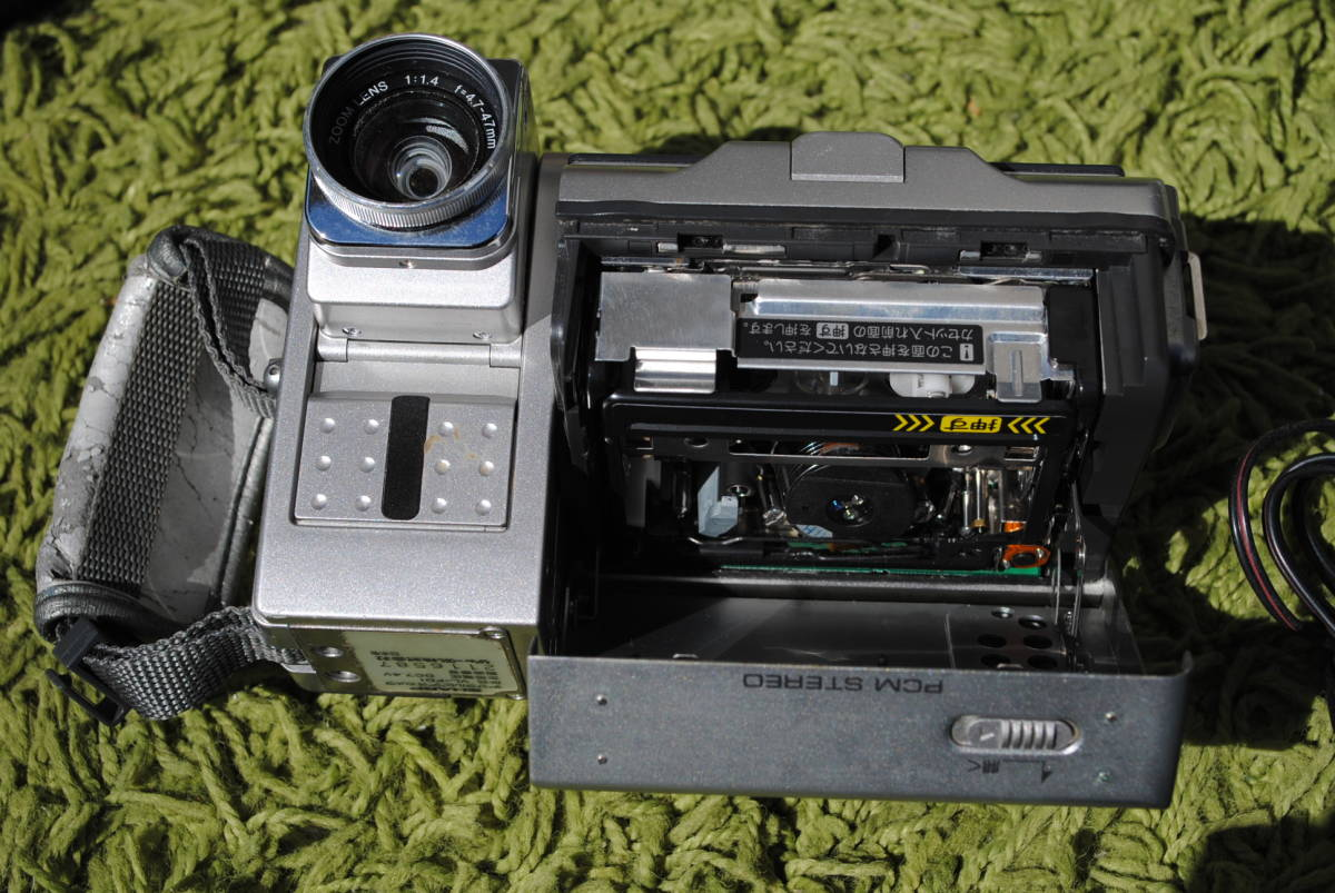 D947 [ジャンク]シャープ ビデオカメラ2台セット◇SHARP/VL-FD1/VL-DC5/プリントシステムベース/ACアダプター/アクセサリーキット/取説_画像7