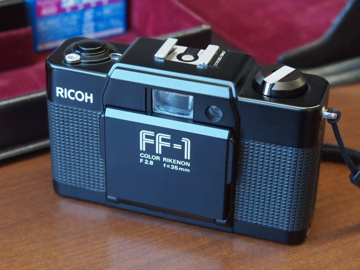 美品 RICOH リコー FF-1 フラッシュ・ケース付 ジャンク扱い_画像3