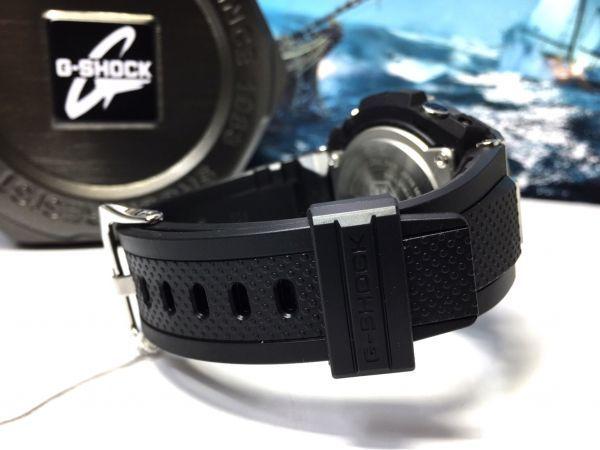 G-STEEL Gスチール 新品 CASIO カシオ G-SHOCK Gショック 正規品 タフソーラー 腕時計 GST アナデジ 腕時計 ブラック ゴールド プレゼント_画像9