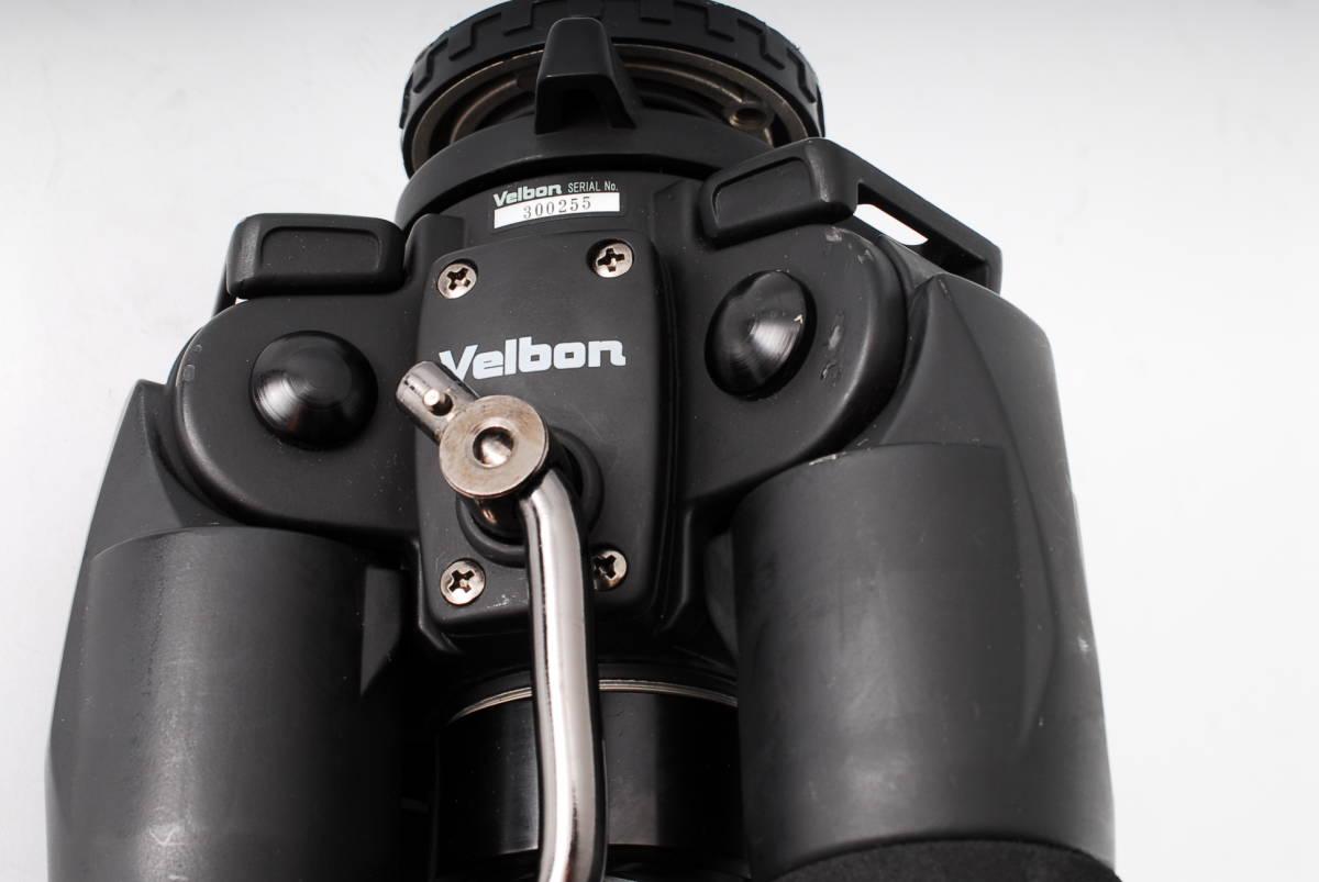 美品 ベルボン ジオ カルマーニュ カーボン 4段三脚 ギヤ式 Velbon Geo Carmagne N840_画像4